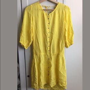 9f0cd1bd22 SOFIA by ViX Swim - NWT Sofia By Vix Yellow Swim Cover Up Dress